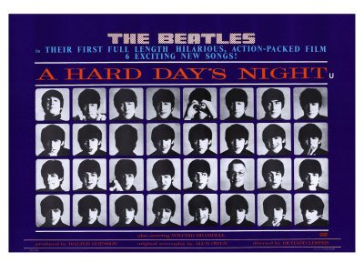 The Beatles A Hard Day s Night винил